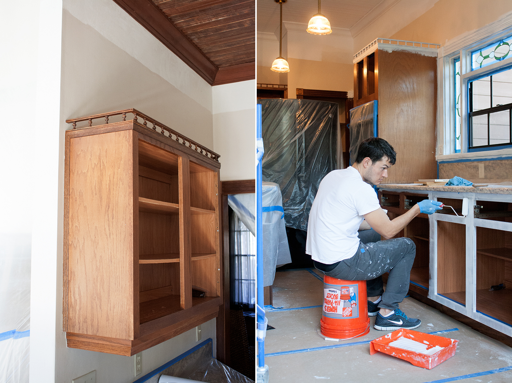 Kitchen   Painting Kitchen Cabinets   DIY Ducklings